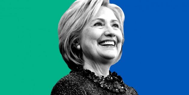 민주당 대선 후보인 힐러리 클린턴. - 힐럴리 클린턴 캠프 홈페이지 캡처 제공